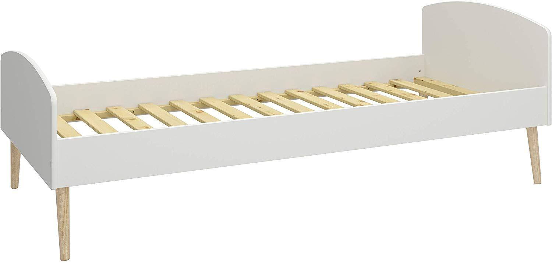 Steens 'Soft Line' Bett weiß/natur, 90x200cm, inkl. Lattenrost Bild 1
