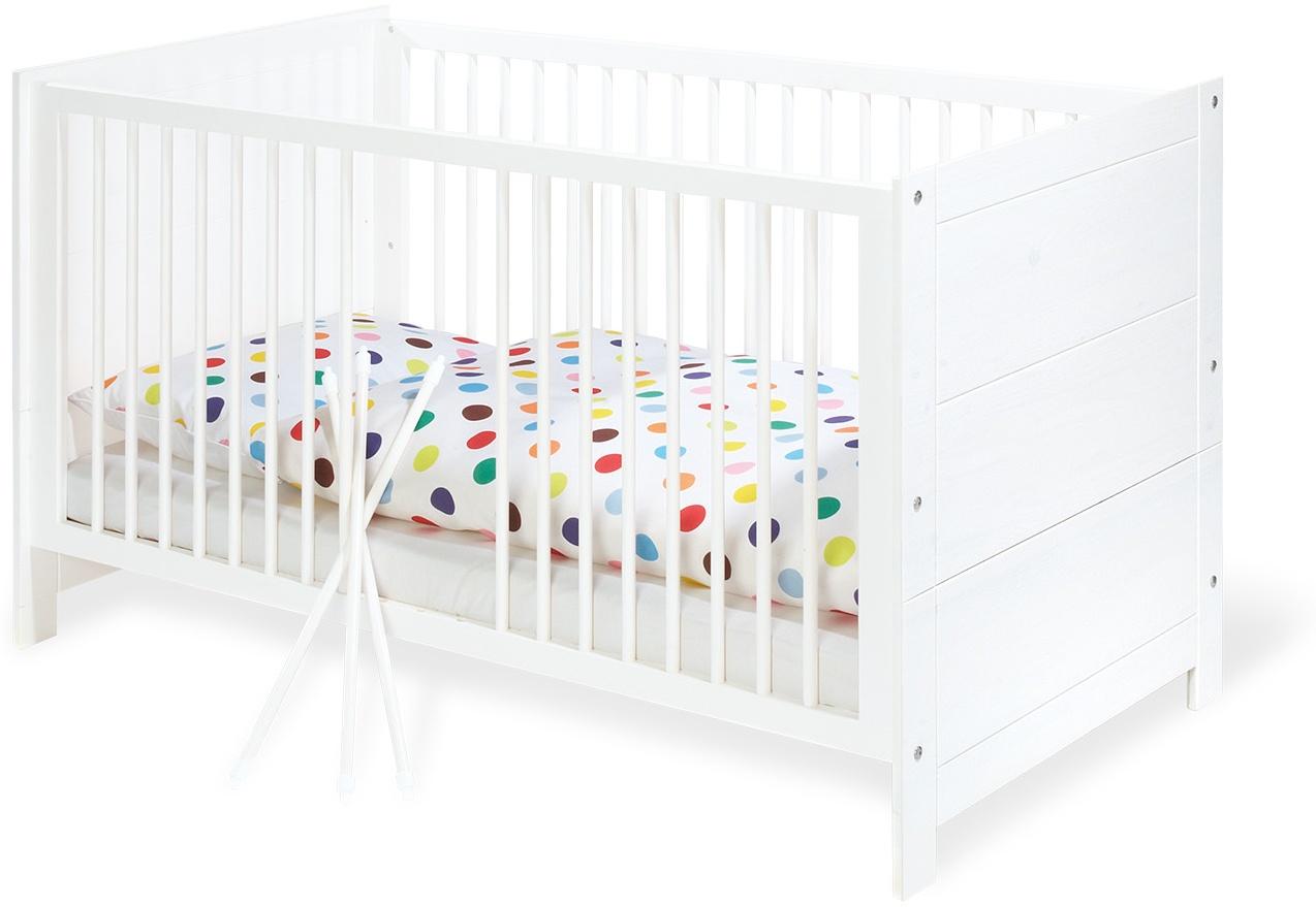 Pinolino 'Puro' Kombi-Kinderbett weiß Bild 1