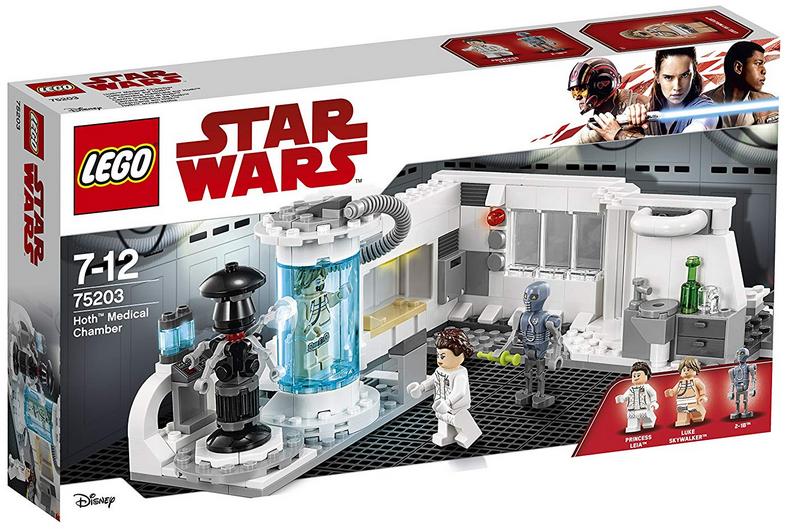LEGO Star Wars Heilkammer auf Hoth (75203), Star Wars Spielzeug Bild 1