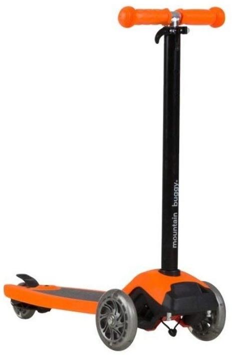 Mountain Buggy Freerider Scooter schwarz/orange Bild 1