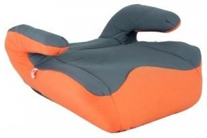 Autokindersitz United-Kids Quattro Booster Gruppe II/III 15-36 kg Orange-Grey Bild 1