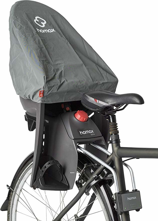 HAMAX Regen Cover Rain Kindersitze, grau, One Size Bild 1