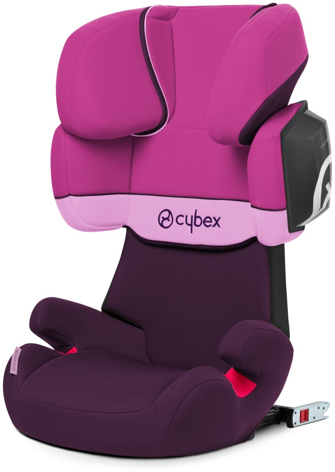 Cybex Kinderautositz Solution X2-Fix purple rain 13-36 kg (Gruppe 2/3) Isofix Bild 1