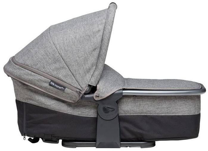 TFK Mono Kombieinheit - Liege / Sitzeinheit - Premium Line - für TFK Mono Kinderwagen Premium Grau Bild 1