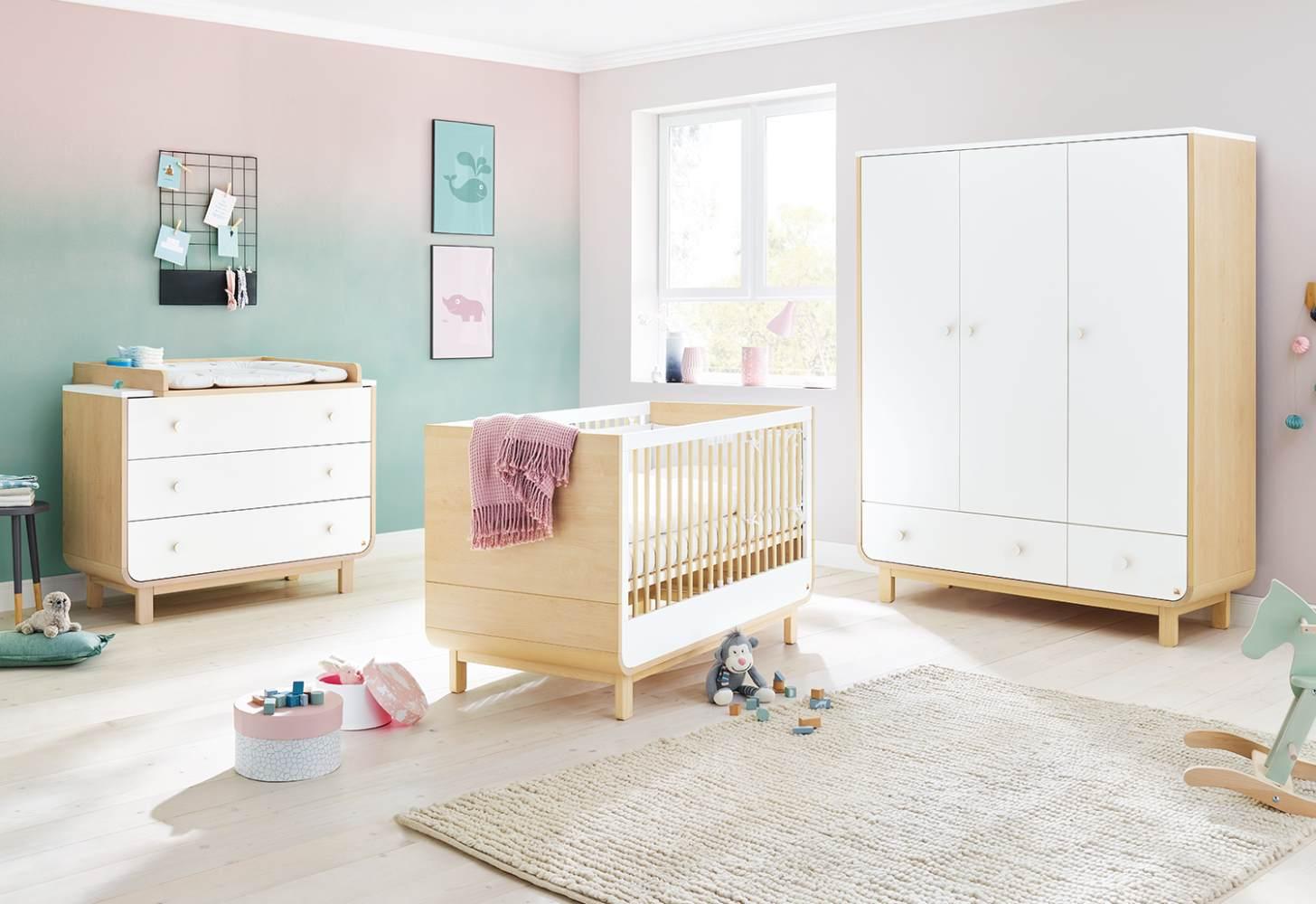 Pinolino 3-tlg. Kinderzimmer Round breit groß Bild 1