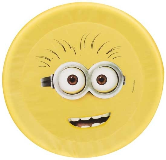 Sambro Minions frisbee Phil Schaum gelb 42 cm Bild 1