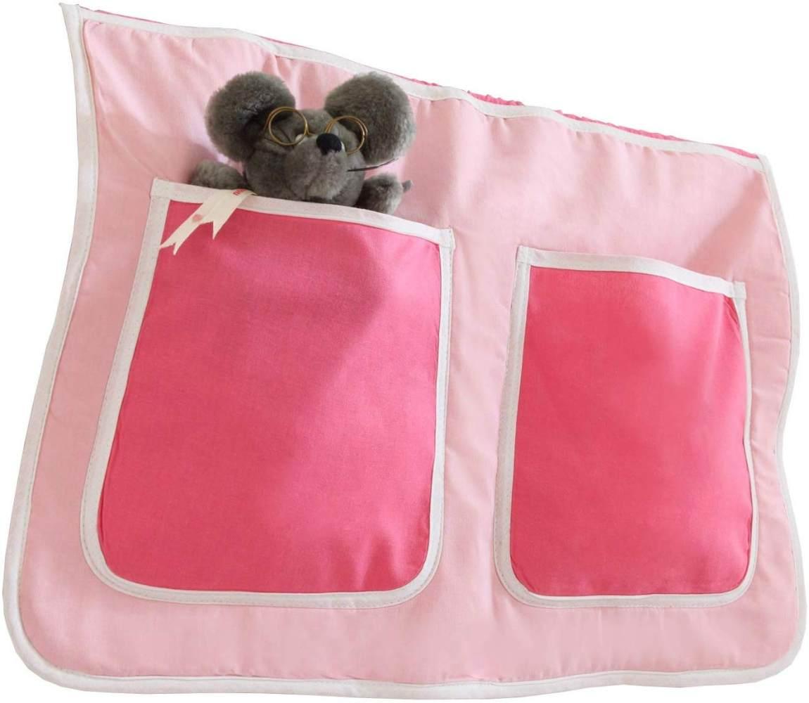 Ticaa Bett-Tasche für Hoch- und Etagenbetten - pirat schwarz-weiß Bild 1
