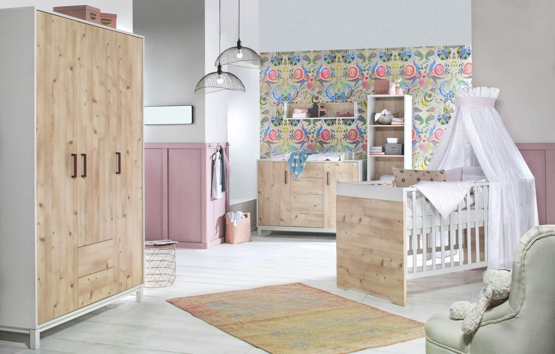 Schardt 'Timber Pinie' 3-tlg. Babyzimmer-Set Bild 1