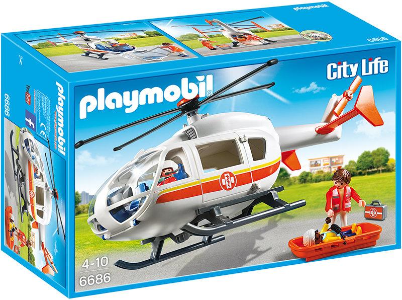 Playmobil 6686 - Rettungshelikopter Bild 1