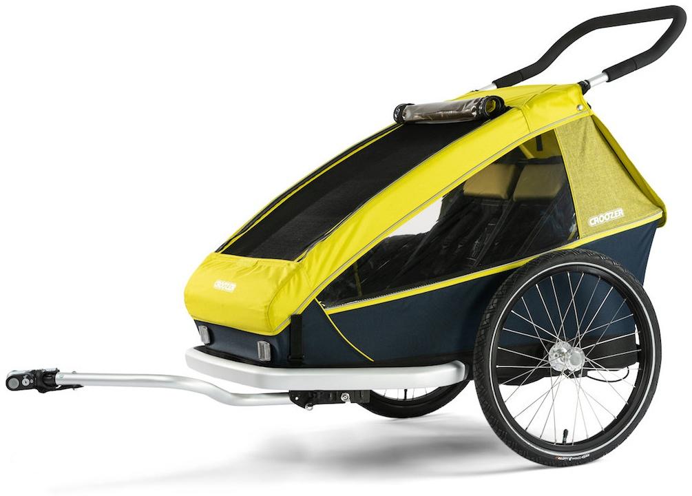 Croozer 'Kid' Fahrradanhänger 2019 Lemon, 2-Sitzer Bild 1