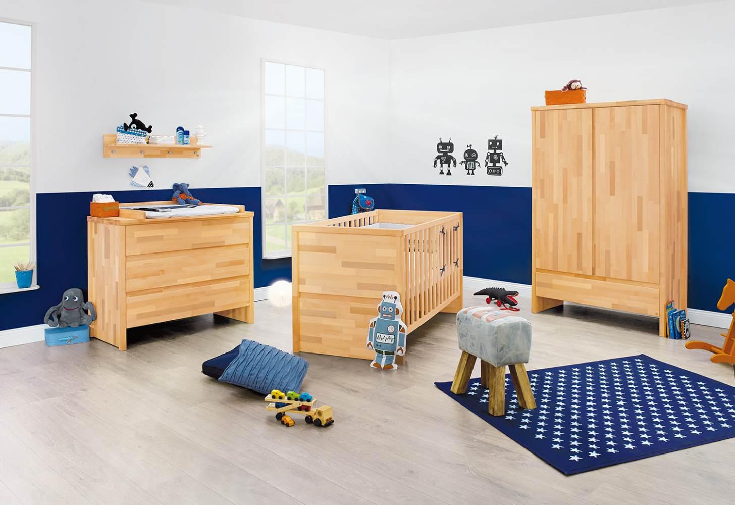 Pinolino 'Fagus' 3-tlg. Babyzimmer-Set natur Bild 1