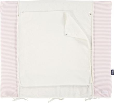 Alvi Wickelauflage+Bezug Set bellybutton Classic Line Schäfchen rosa 70x85 cm Bild 1