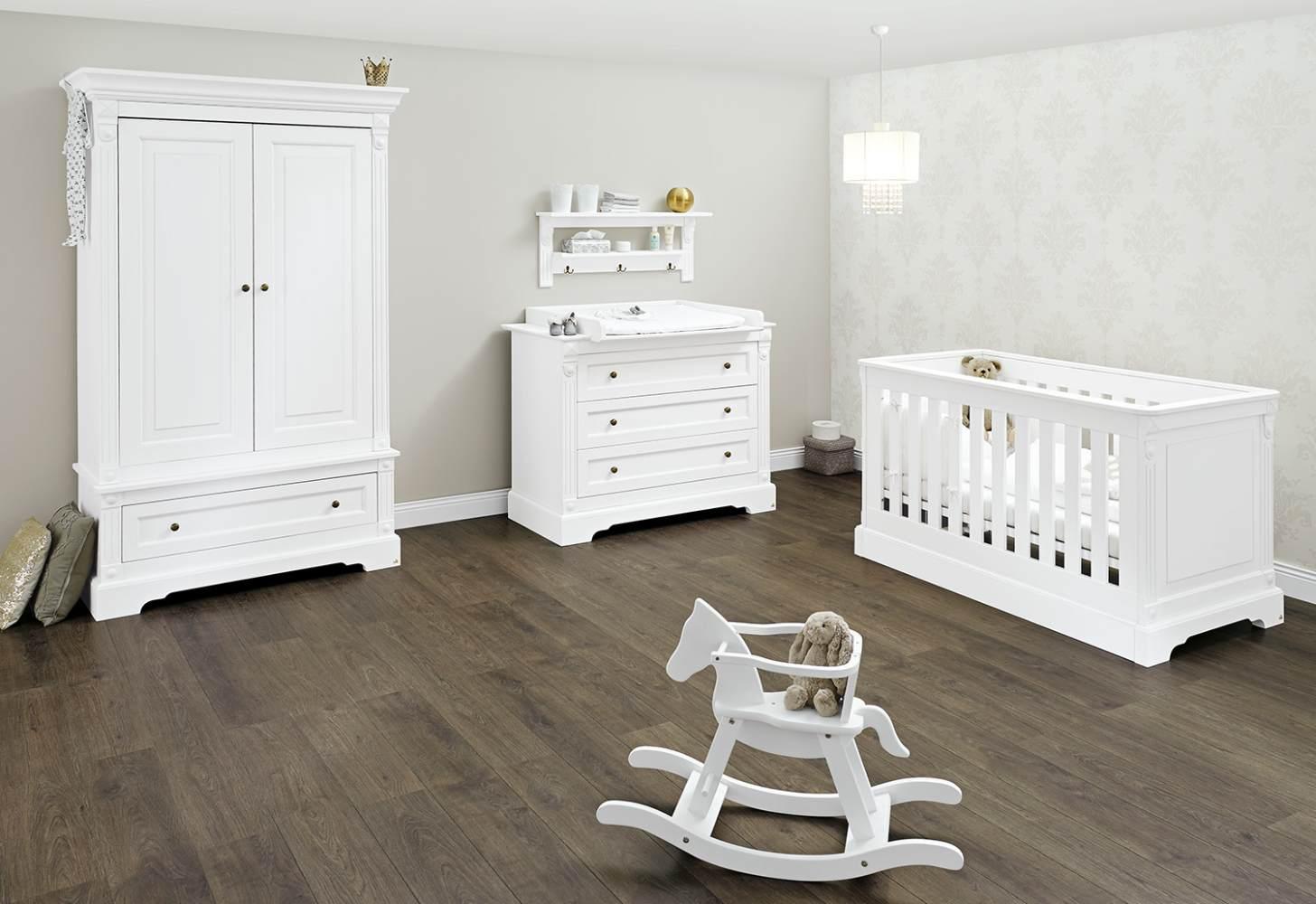 Pinolino 'Emilia' 3-tlg. Babyzimmer-Set weiß Bild 1