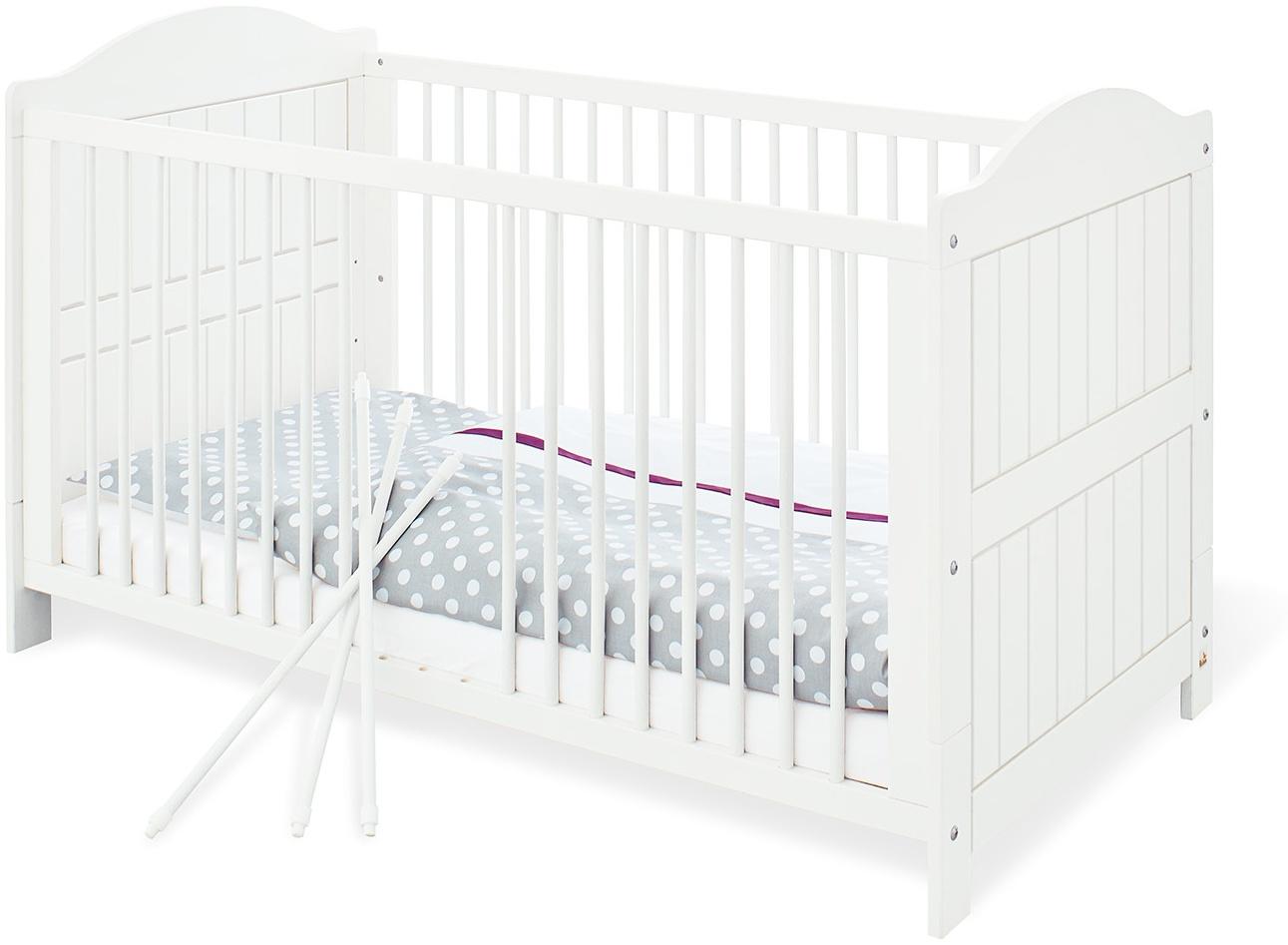 Pinolino 'Nina' Kombi-Kinderbett weiß Bild 1