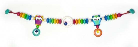 Hess-Spielzeug Zwillingswagenkette Eule Bild 1