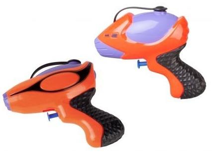 Wasserpistole - orange-lila - 1 Stück Bild 1