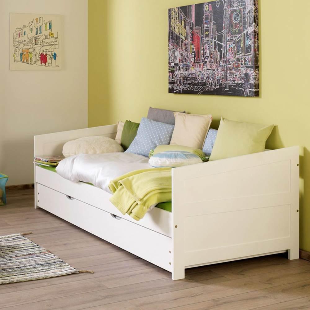 Relita 'KOLDING-13' Einzelbett weiß, inkl. Bettschublade 90x200 cm Bild 1