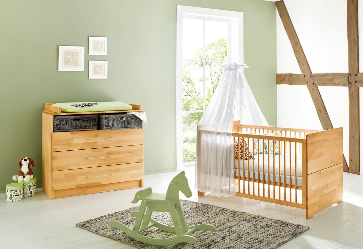 Pinolino 'Natura' 2-tlg. Babyzimmer-Set natur Bild 1