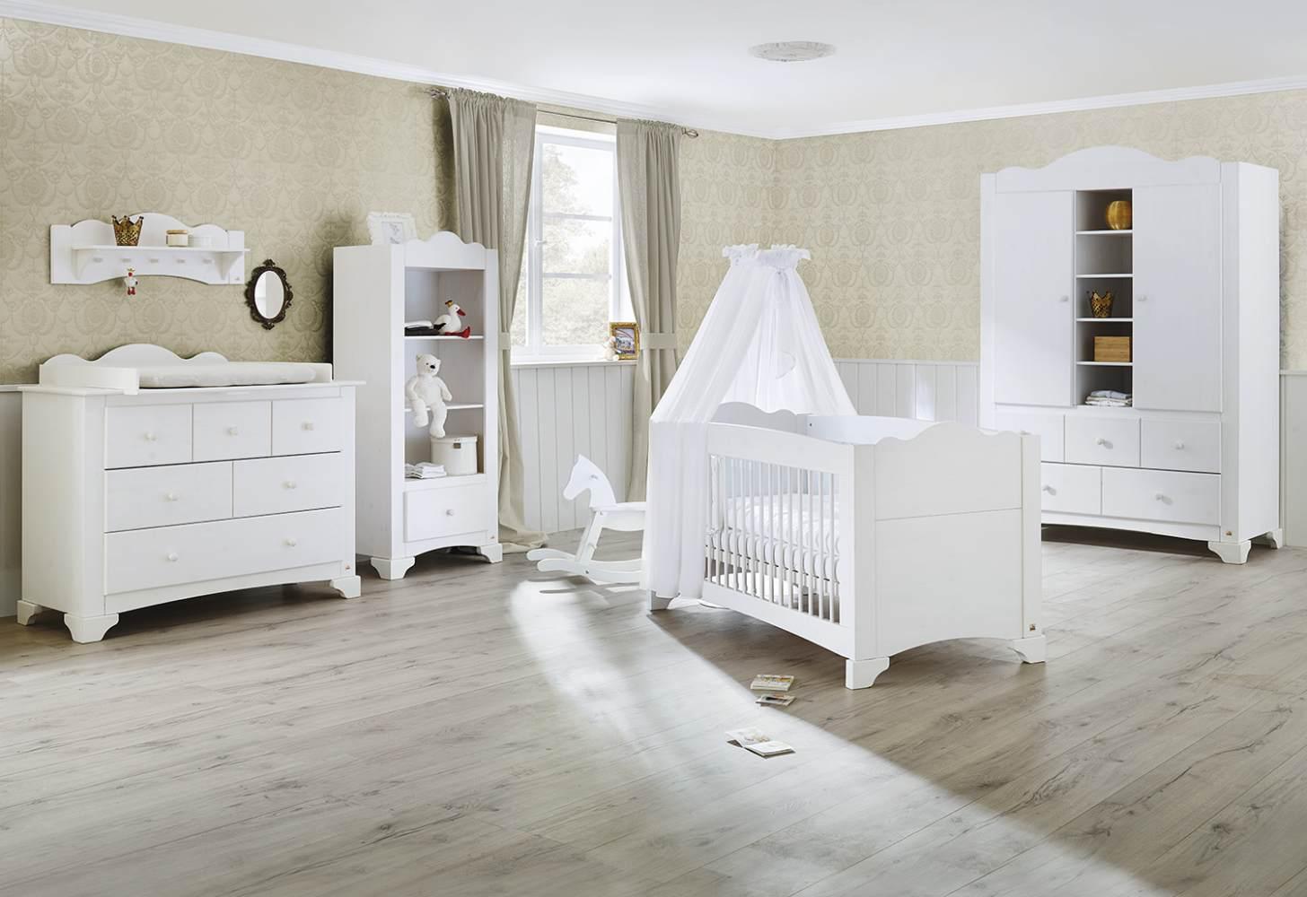 Pinolino 'Pino' 3-tlg. Babyzimmer-Set weiß Bild 1