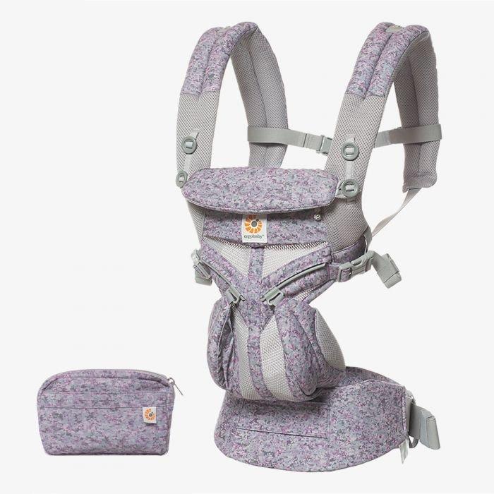 Ergobaby 'Omni 360' Babytrage 4-Positionen Cool Air Mesh Pink Digi Camo Bild 1