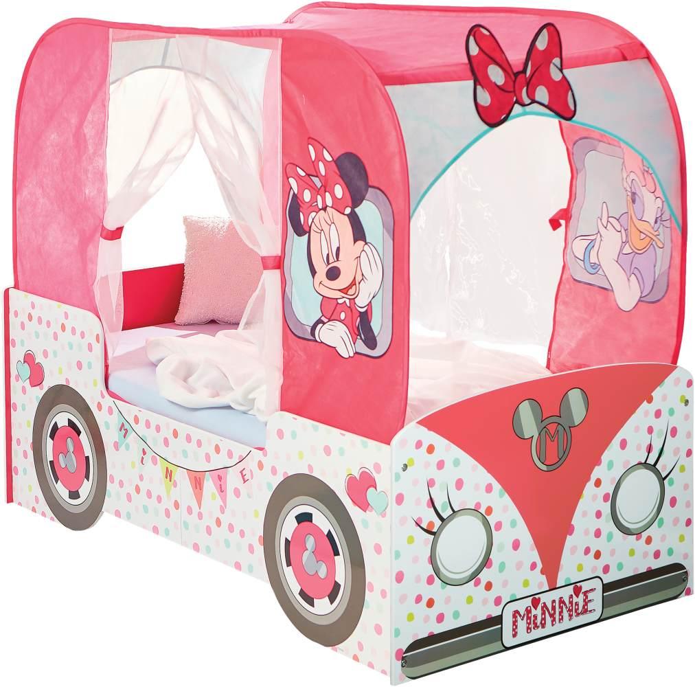 Worlds Apart 'Minnie Mouse' Wohnmobilbett 70 x 140 cm rosa Bild 1