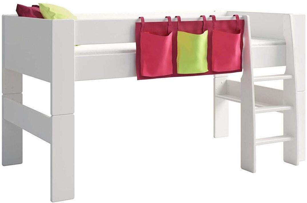 Steens For Kids Utensilo,Taschenset für Kinderbett, Hochbett, 93 x 38 x 1 cm (B/H/T), Baumwolle, Lila Bild 1