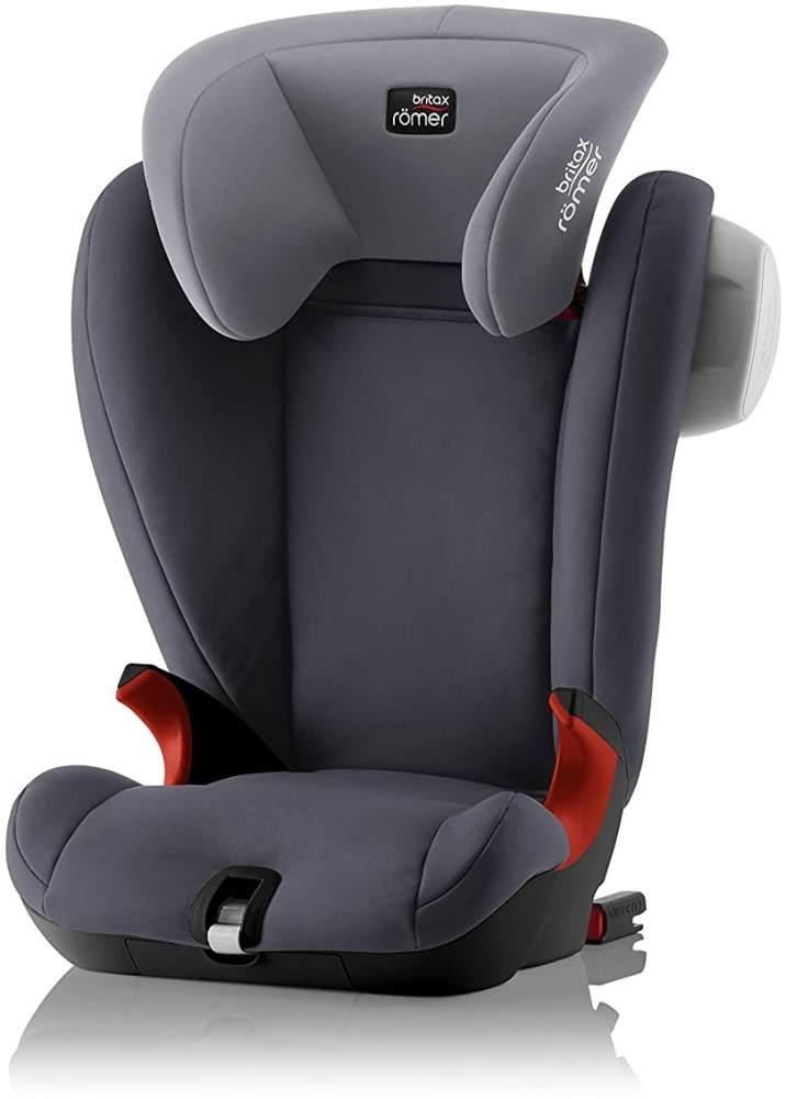 Britax Römer Kindersitz 3,5 - 12 Jahre I 15 - 36 kg I KIDFIX SL SICT Autositz Gruppe 2/3 I Storm Grey Bild 1