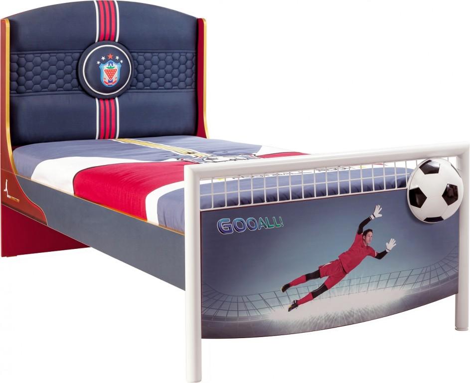 Cilek FOOTBALL Bett Kinderbett Fußballbett Kinderzimmer Fußball ohne Bild 1