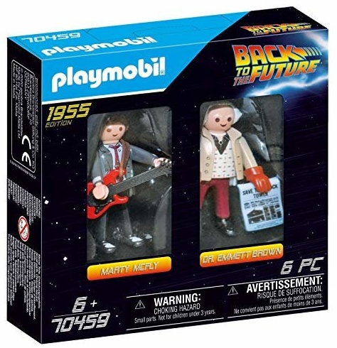 PLAYMOBIL  Back to the Future Marty McFly und Dr. Emmett Brown Bild 1