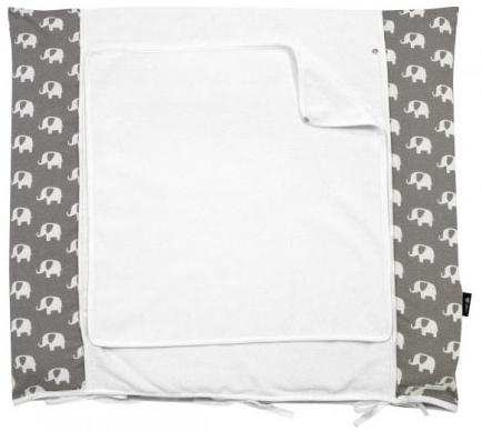 Alvi - Wickelauflage+Bezug Set Special Edition Elephants grey 70x85cm Bild 1