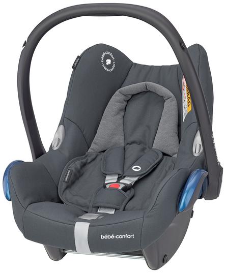 Maxi-Cosi 'Cabriofix' Babyschale 2021 Essential Graphite von 0-13 kg (Gruppe 0+) Bild 1