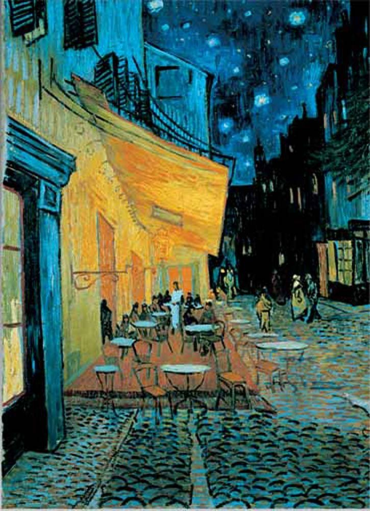 International Publishing 0601N00013B - Café De Nuit, Klassische Puzzle Bild 1