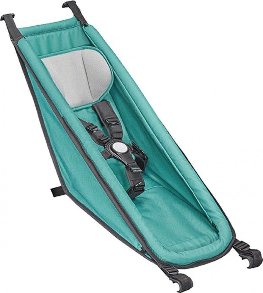 Croozer Babyhängematte für Fahrradanhänger Croozer Kid und Kid Plus ab 2014, grün Bild 1