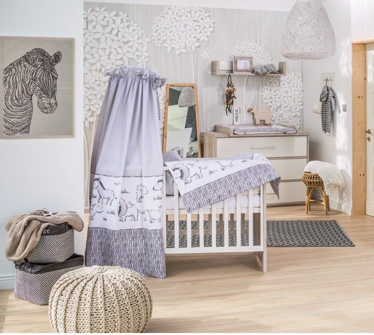 Schardt 'Mick' 2-tlg. Babyzimmer-Set mit Griffen Bild 1