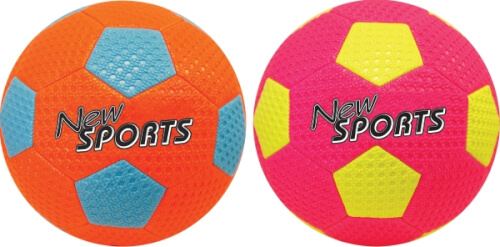 New Sports Beach Soccer, Größe 5, 2-fach sortiert, unaufgeblasen Bild 1