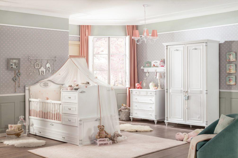 Cilek 'Romantic' 4-tlg. Babyzimmer-Set Bild 1