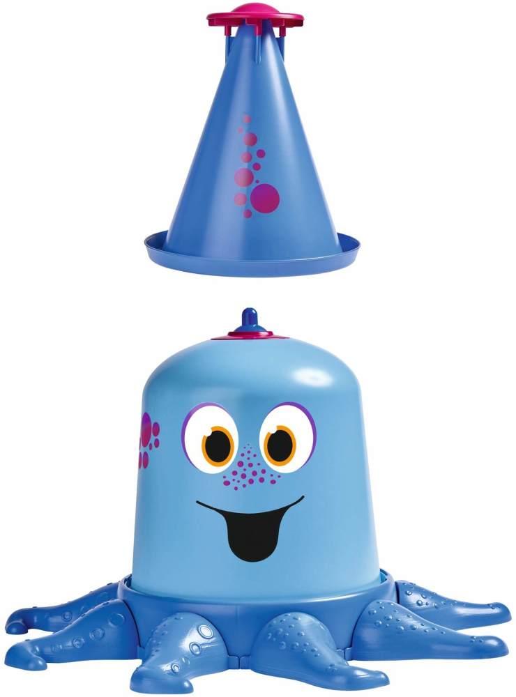 BIG-Aqua-Nauti, Wassersprinkler mit bis zu 4 Meter hohem Strahl, Gartensprinkler für Kinder in Krakenform, genormter Schlauchanschluss mit Dichtung, für Kinder ab 3 Jahren Bild 1