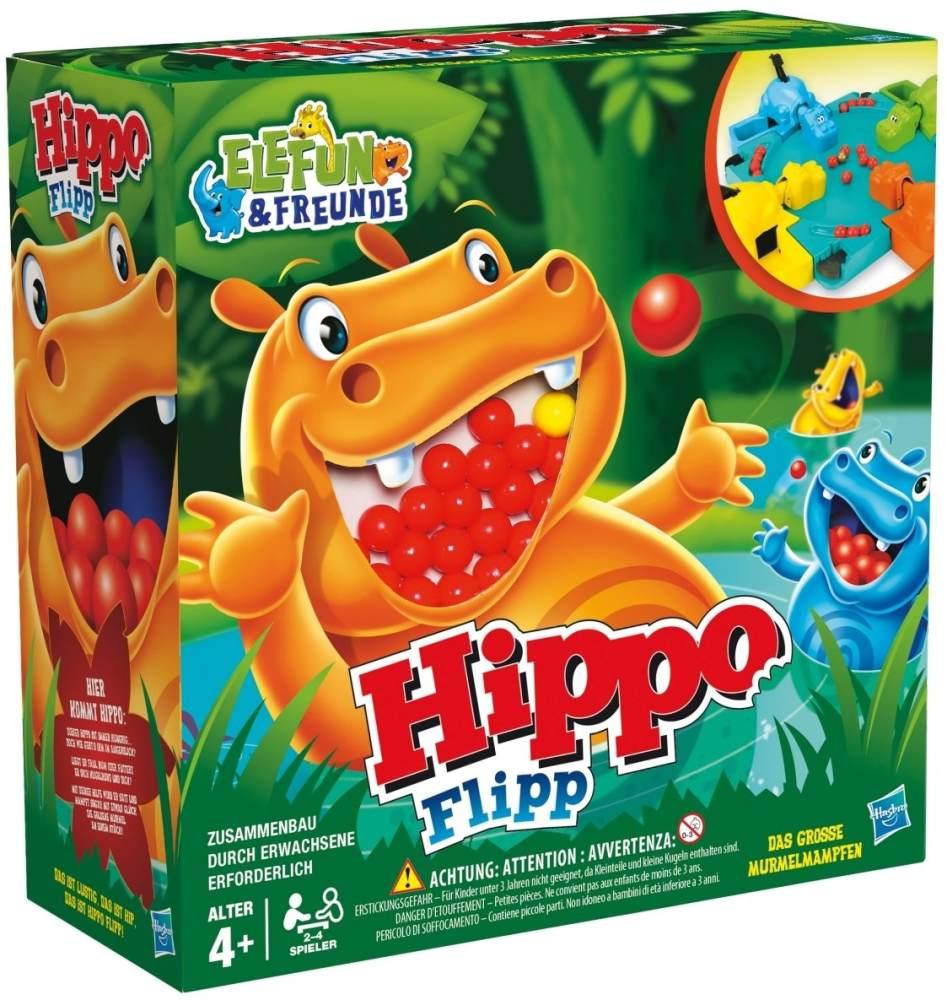 Hasbro Spiele 98936100 - Hippo Flipp, Kinderspiel Bild 1