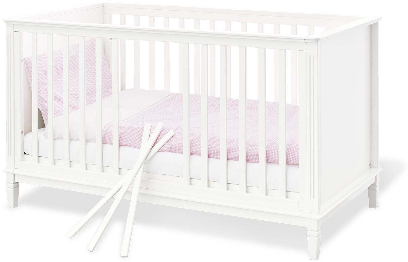 Pinolino 'Hope' Kombi-Kinderbett 70 x 140 cm weiß Bild 1