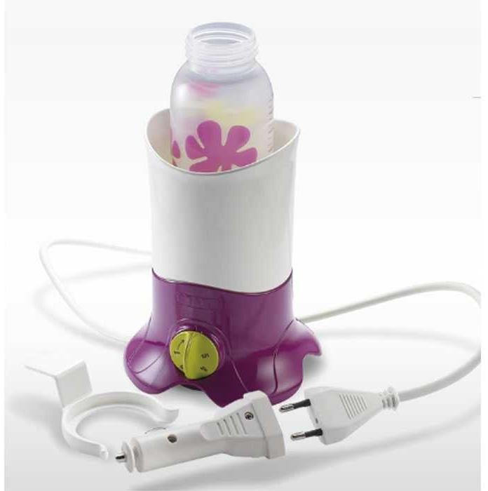 Beaba 'BibBain-Maria' Flaschenwärmer Lila, inkl. Zigarettenanzünder-Adapter und eine Gläschenzange Bild 1