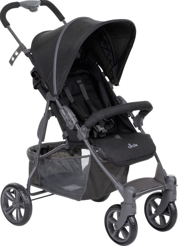 ABC Design - Circle Buggy Treviso 4 Woven Black (Kollektion 2019) Bild 1