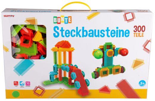 Besttoy - Bunte Steckbausteine - 300 Teile Bild 1