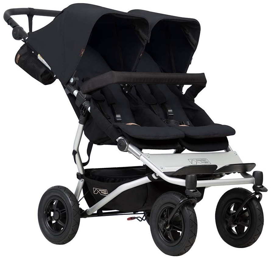 Mountain Buggy Doppelkinderwagen Side-by-Side mit 4 Rollen Bild 1