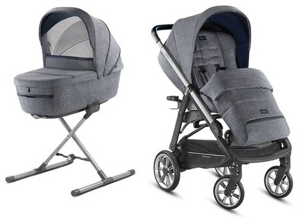 Inglesina 'Aptica – Kit System Duo' Kinderwagen 2 in 1 2020, Niagara Blue Bild 1