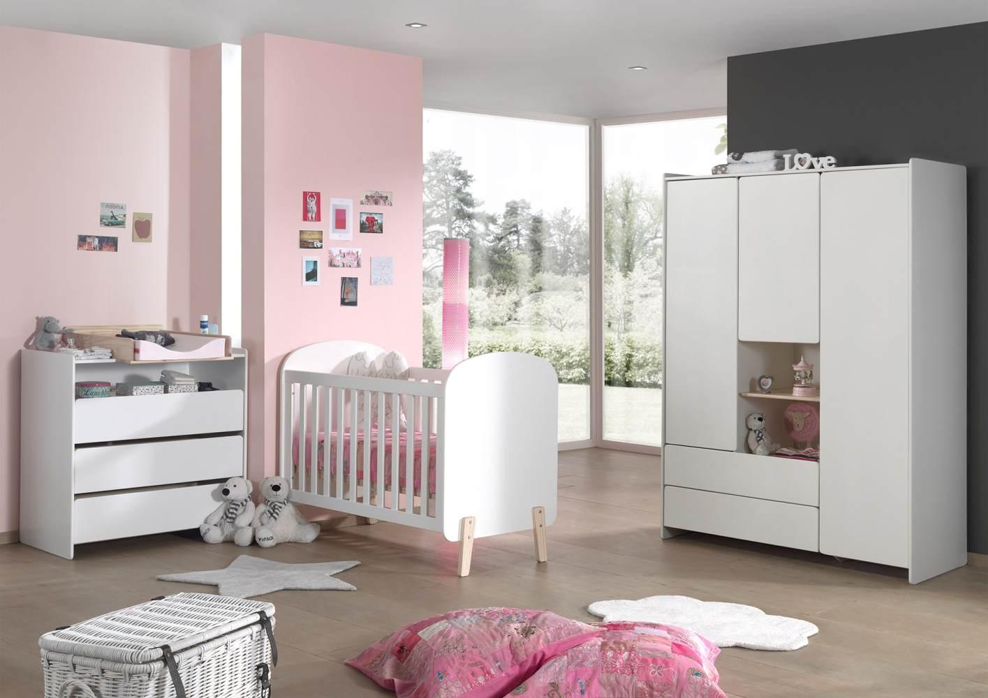 Vipack 'Kiddy' Babyzimmer-Set 60 x 120 cm Bild 1