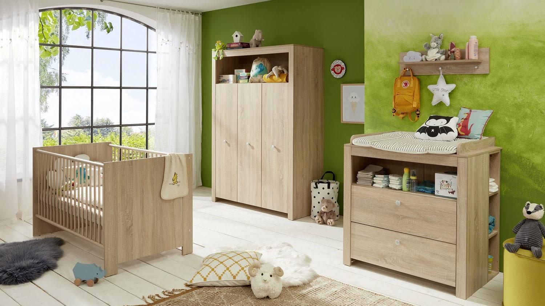 Trendteam 'OLIVIA' 5-tlg. Babyzimmer-Set eiche sägerau Bild 1