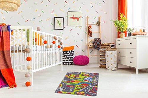 misento Kinderteppich Straßenteppich 80 x 120 cm Bild 1