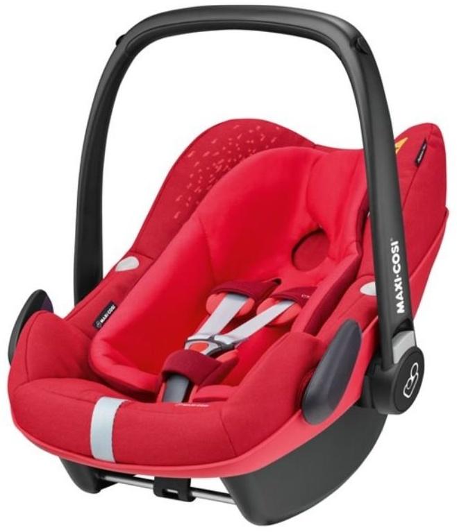 Maxi-Cosi 'Pebble Plus i-Size' Babyschale 2018 Vivid Red von 45-75 cm (Gruppe 0+) Isofix Bild 1