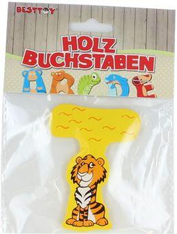 Besttoy Holzbuchstabe 'T' gelb Bild 1
