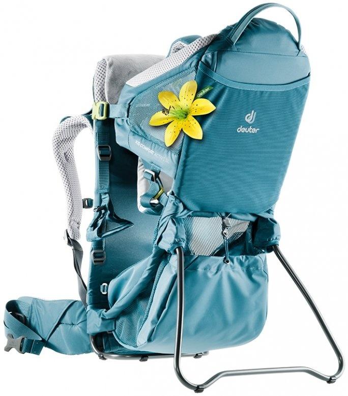Deuter 'Kid Comfort Active SL' Kinderkraxe Blau Bild 1